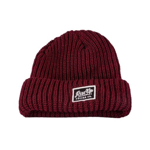 RiseUp-Beenie-Red