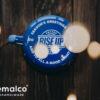 RISE UP COFFEE ROASTERS – 9 cm mug – prussian blue (4)